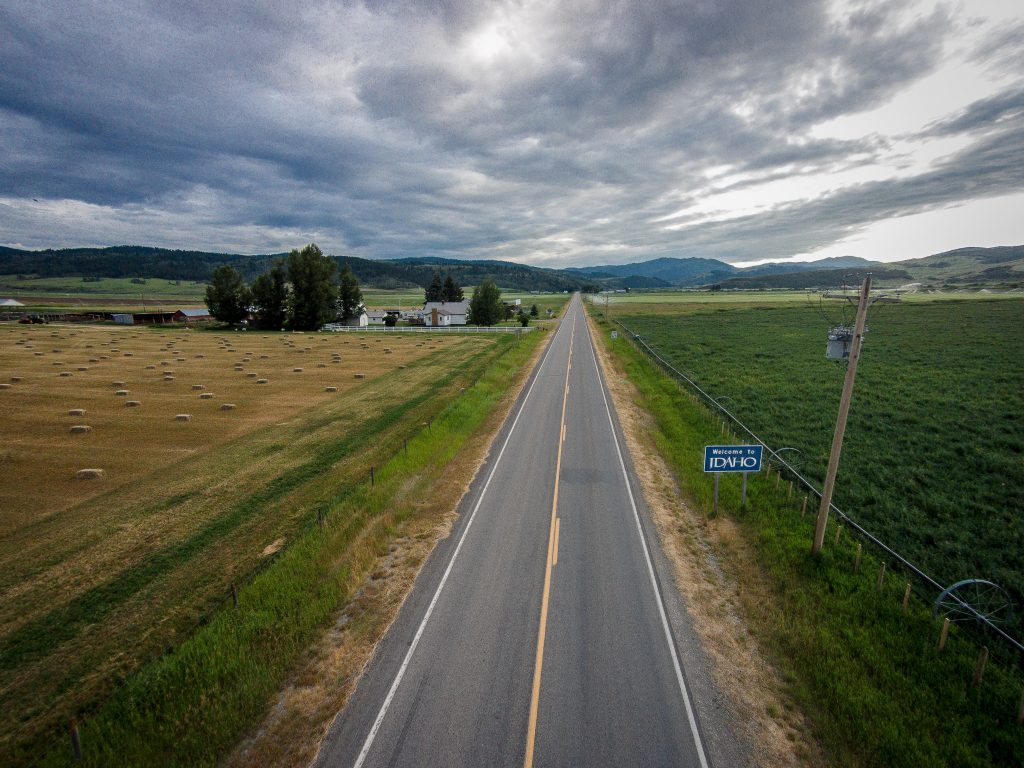 Unique Perspective - Welcome to Idaho